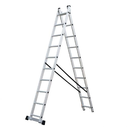 2 SECTION COMBINATION LADDER