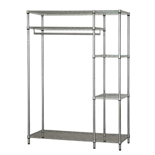 ADJUSTABLE METAL WARDROBE