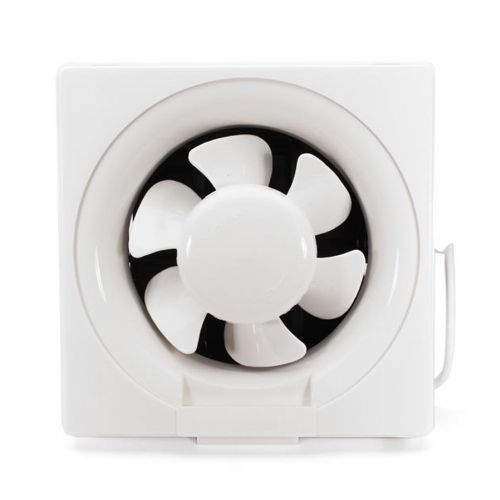 EXHAUST FAN WITH LOUVERS