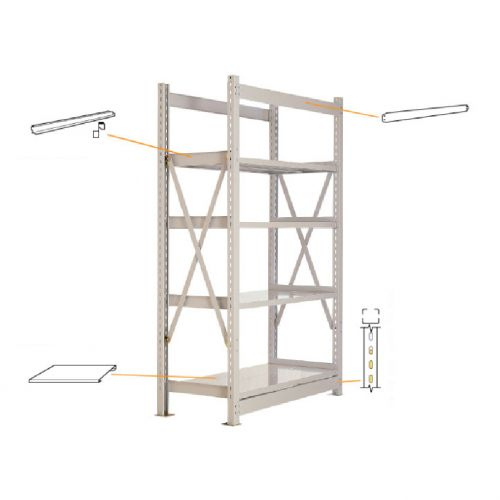 MEDIUM DUTY METAL RACK