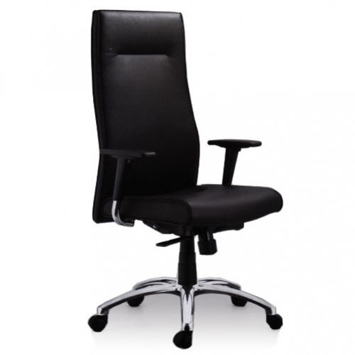 SWIVEL CHAIR HIGH BACK EXECUTIVE – LEATHER REF FOSTER