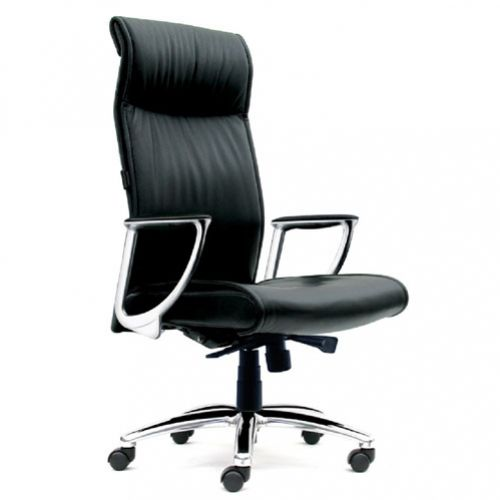 SWIVEL CHAIR HIGH BACK EXECUTIVE – LEATHER REF STANLEY 1-1