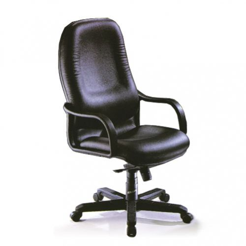 SWIVEL CHAIR HIGH BACK – LEATHER REF BS 779