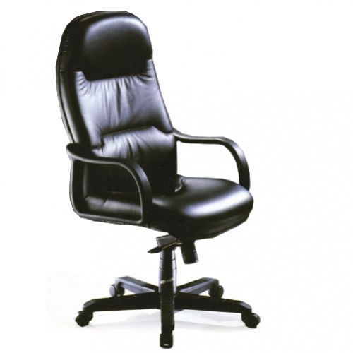 SWIVEL CHAIR HIGH BACK – LEATHER REF BS 889