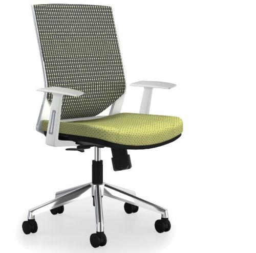 STAFF CHAIR MEDIUM BACK SWIVEL REF 8011