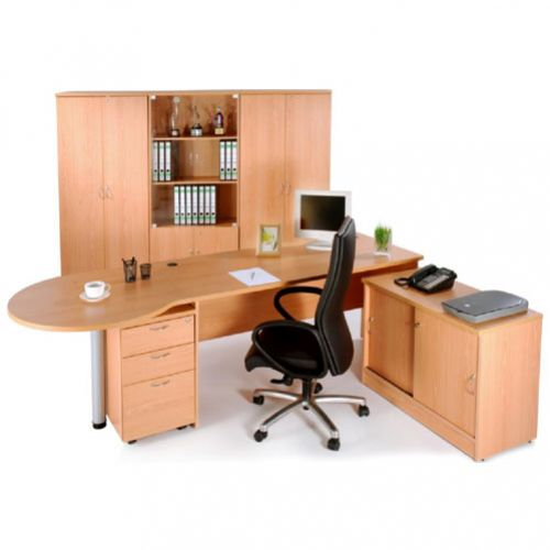 EXECUTIVE DESK WITH END CONNECTION